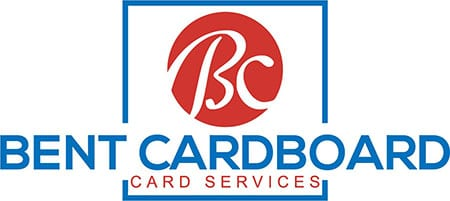 Bent Cardboard Card Services